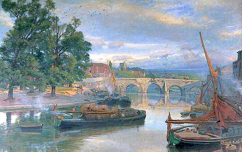 The Old Bridge at Maidstone