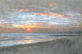 The Shrimper | Albert Goodwin | oil painting