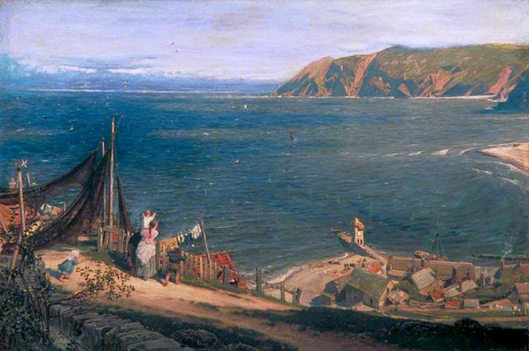The Toilers Return | Albert Goodwin | oil painting