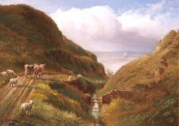 A Glen near Peel | George Goodwin | oil painting