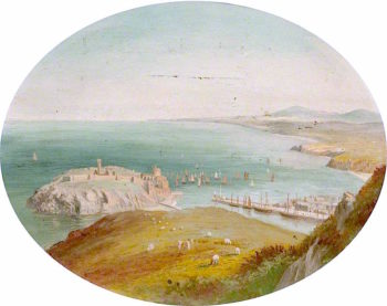 Peel Castle and Bay | George Goodwin | oil painting
