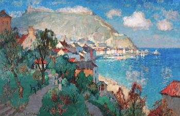 Scarborough | Konstantin Gorbatov | oil painting