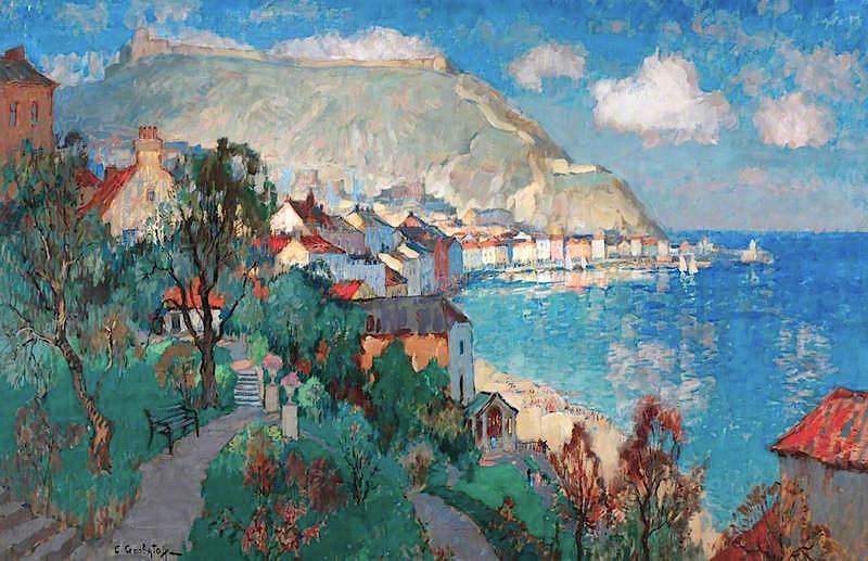 Scarborough | Konstantin Gorbatov | oil painting