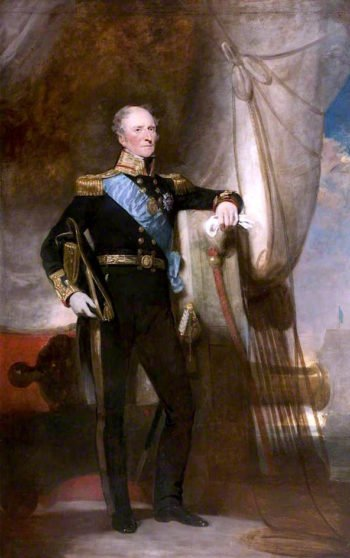 Admiral Sir Peter Halkett of Pitferrane | Sir John Watson Gordon | oil painting