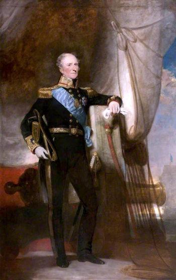 Admiral Sir Peter Halkett of Pitferrane | Sir John Watson Gordon | oil painting