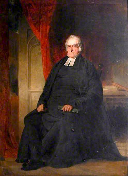 Archdeacon John Headlam | Sir John Watson Gordon | oil painting