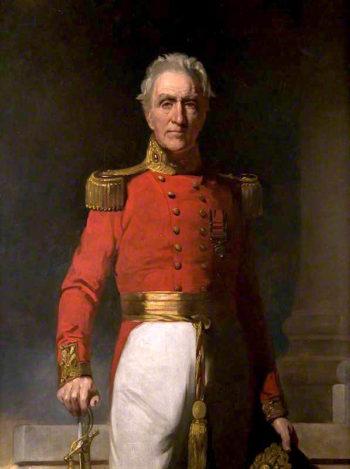 General Gabriel Gordon | Sir John Watson Gordon | oil painting