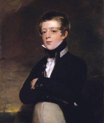 Midshipman John Russell | Sir John Watson Gordon | oil painting