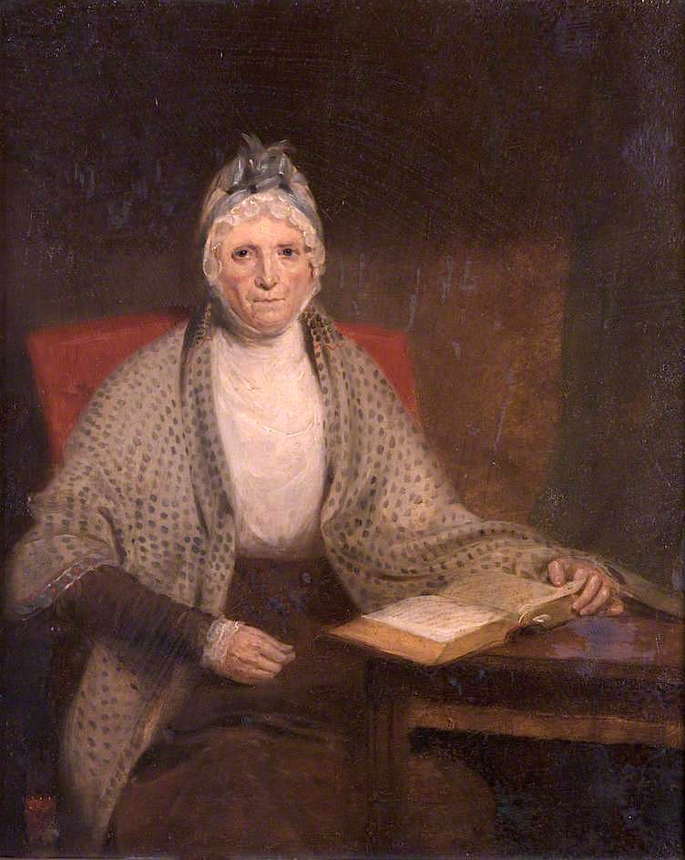 Mrs Scott of Raeburn   Sir John Watson Gordon   oil painting