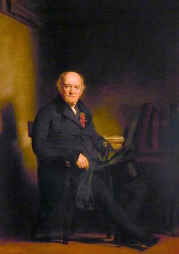 Reverend Alexander Brunton   Sir John Watson Gordon   oil painting