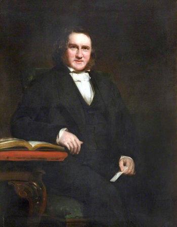 Sir James Young Simpson | Sir John Watson Gordon | oil painting