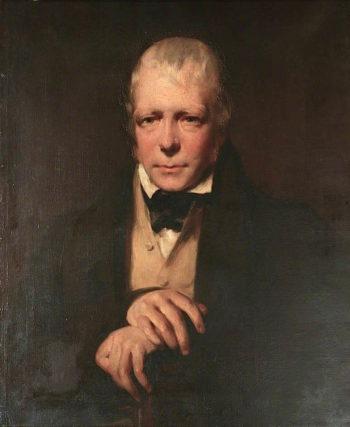 Sir Walter Scott | Sir John Watson Gordon | oil painting