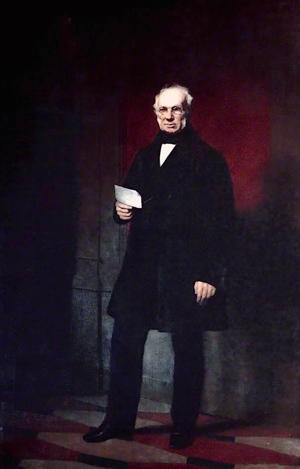 Sir William Brown | Sir John Watson Gordon | oil painting