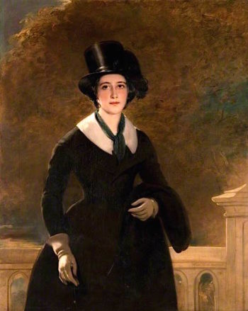 The Honourable Mrs Alexander Macalister | Sir John Watson Gordon | oil painting