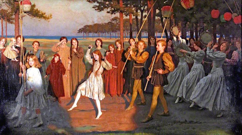 Golden Youth | Thomas Cooper Gotch | oil painting
