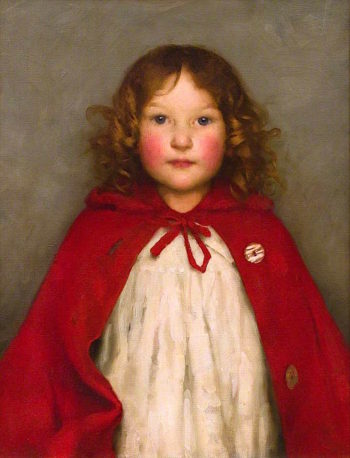 Ruby | Thomas Cooper Gotch | oil painting