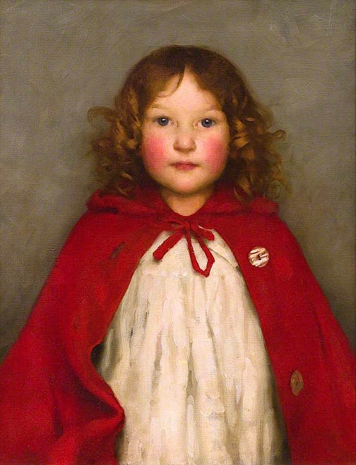 Ruby   Thomas Cooper Gotch   oil painting
