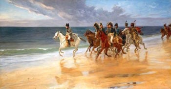 Napoleon on the Sands at Boulogne