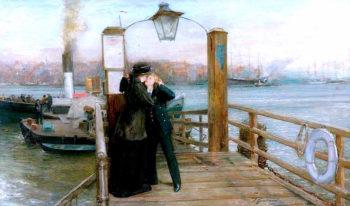 Going to Sea | Thomas Alexander Ferguson Graham | oil painting