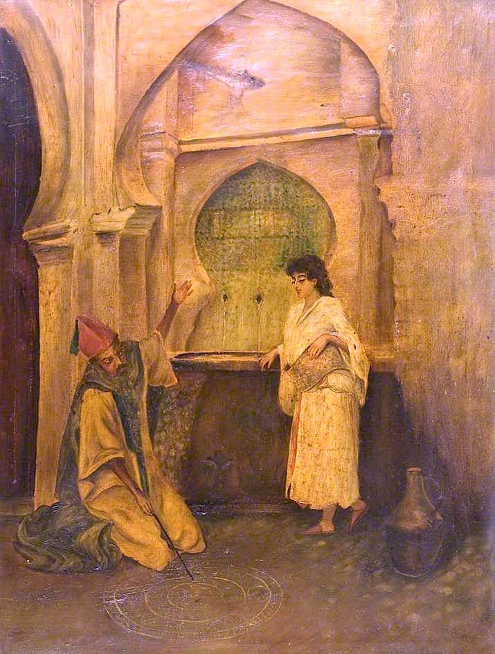 Kismet   Thomas Alexander Ferguson Graham   oil painting