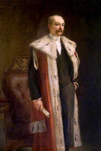Lord Provost John Alexander Dewar | Thomas Alexander Ferguson Graham | oil painting