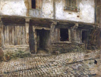 Old Houses | Thomas Alexander Ferguson Graham | oil painting