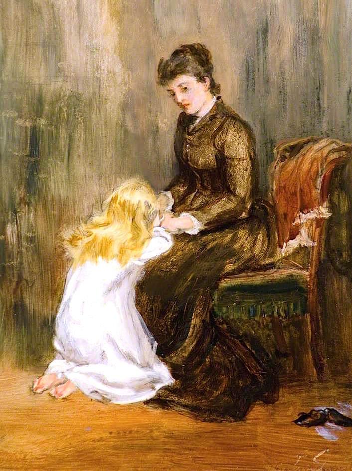 Prayer   Thomas Alexander Ferguson Graham   oil painting