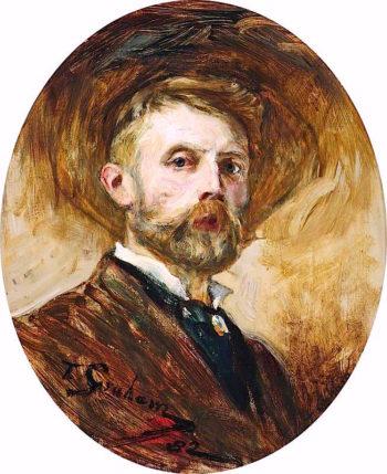 Self Portrait | Thomas Alexander Ferguson Graham | oil painting
