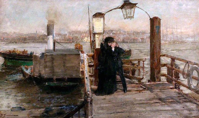 The Landing Stage | Thomas Alexander Ferguson Graham | oil painting