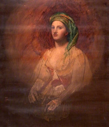 A Grecian Girl | John Graham-Gilbert | oil painting