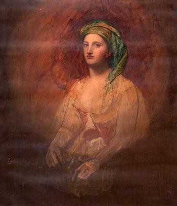 A Grecian Girl | John Graham-Gilbert | oil painting