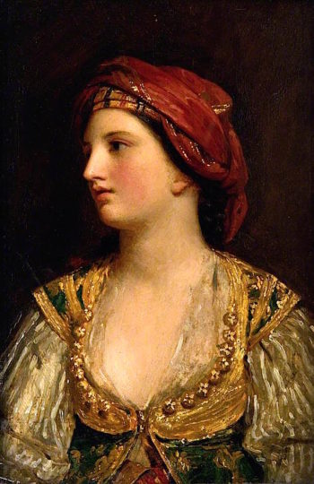 A Woman of Lonico | John Graham-Gilbert | oil painting