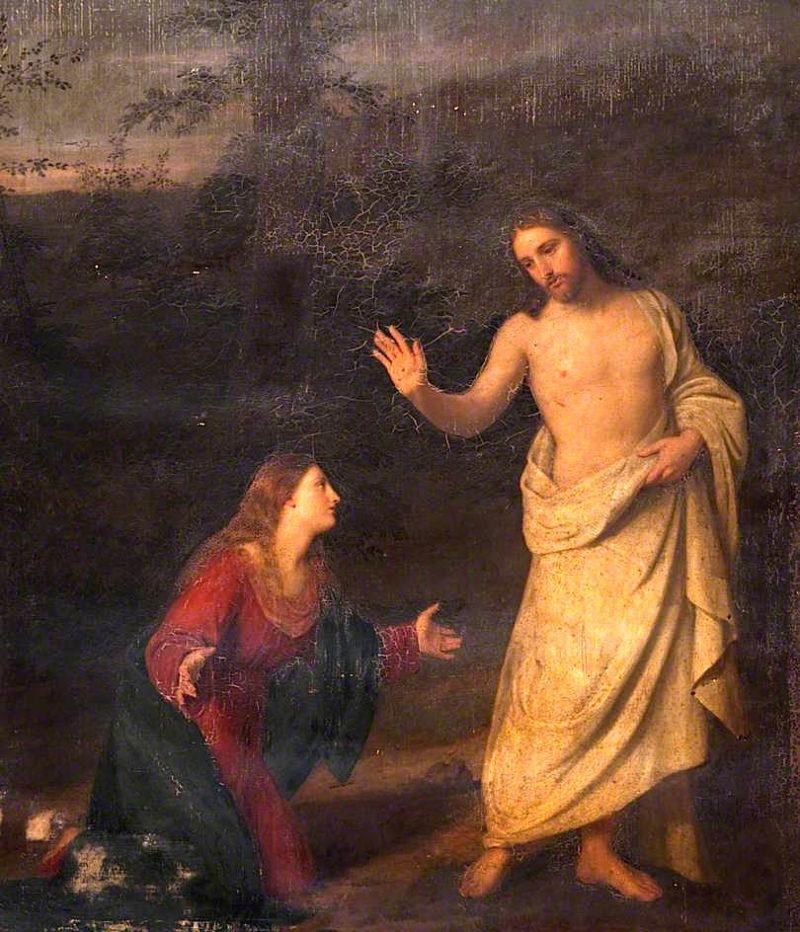 Christ Appearing to Mary Magdalene   John Graham-Gilbert   oil painting