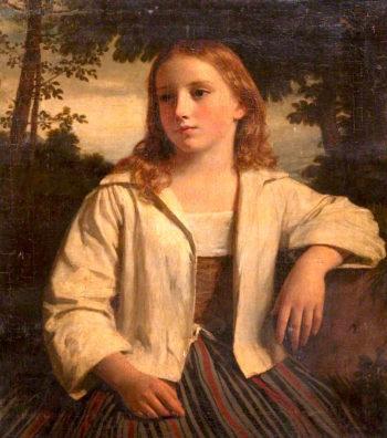 Female Portrait | John Graham-Gilbert | oil painting