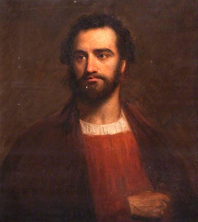 Italian Gentleman | John Graham-Gilbert | oil painting