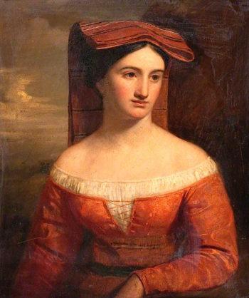 Italian Woman | John Graham-Gilbert | oil painting