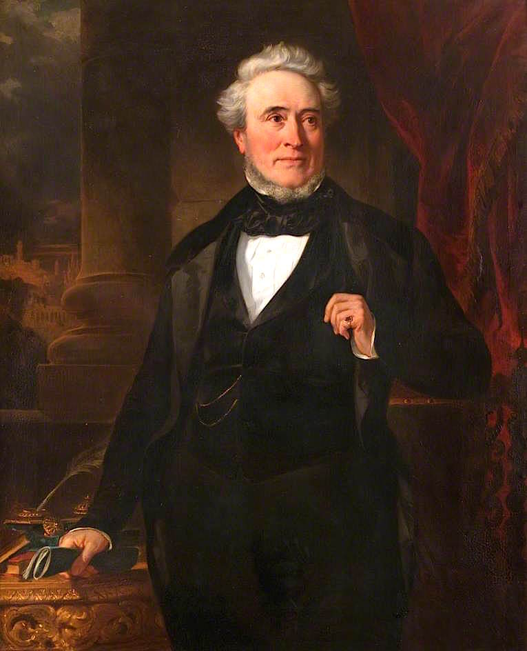 James Buchanan | John Graham-Gilbert | oil painting
