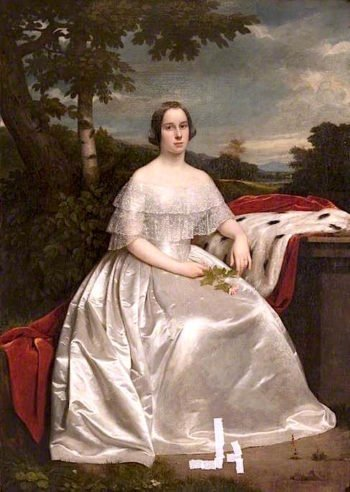 Mrs James Scott of Kelly | John Graham-Gilbert | oil painting