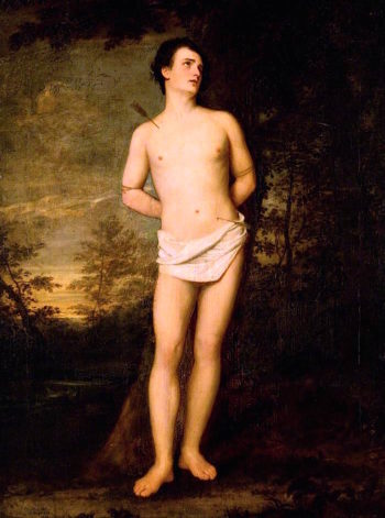 Saint Sebastian | John Graham-Gilbert | oil painting