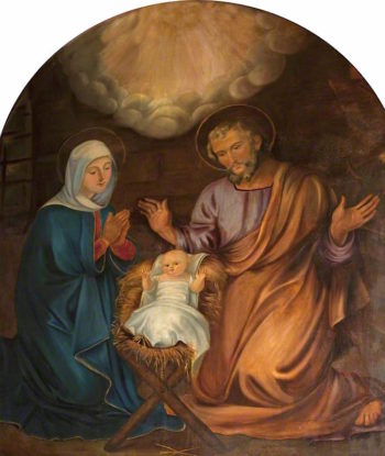 The Holy Family | John Graham-Gilbert | oil painting