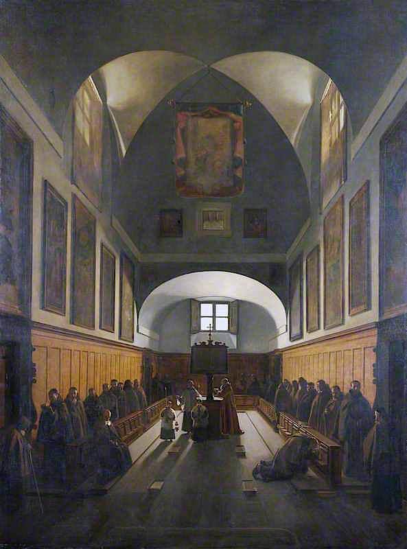 The Choir of the Capuchin Church