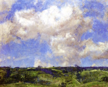 Over the Uplands | Charles Harold Davis | oil painting