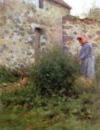 A Quiet Corner | Charles Harold Davis | oil painting