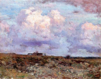 Clouds Gathering at Twilight | Charles Harold Davis | oil painting