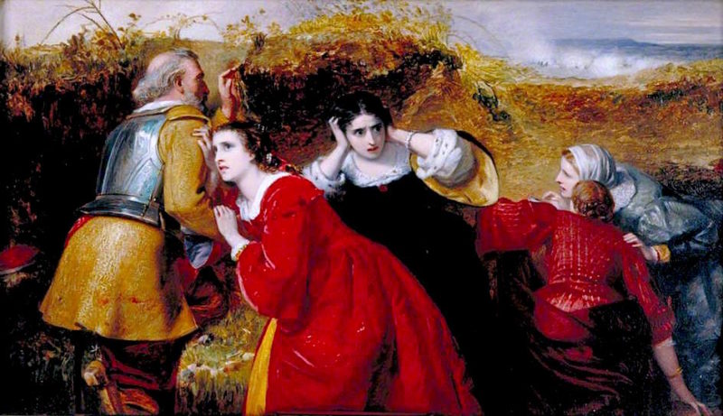 The Combat | William James Grant | oil painting