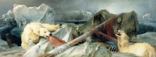 Man Proposes,God Disposes Painted originally by Edwin Landseer