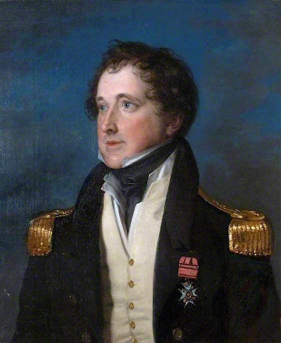 Admiral Sir William Montagu   Henry Richard Graves   oil painting