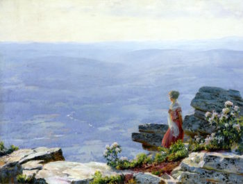 Haze in the Valley | Charles Courtney Curran | oil painting
