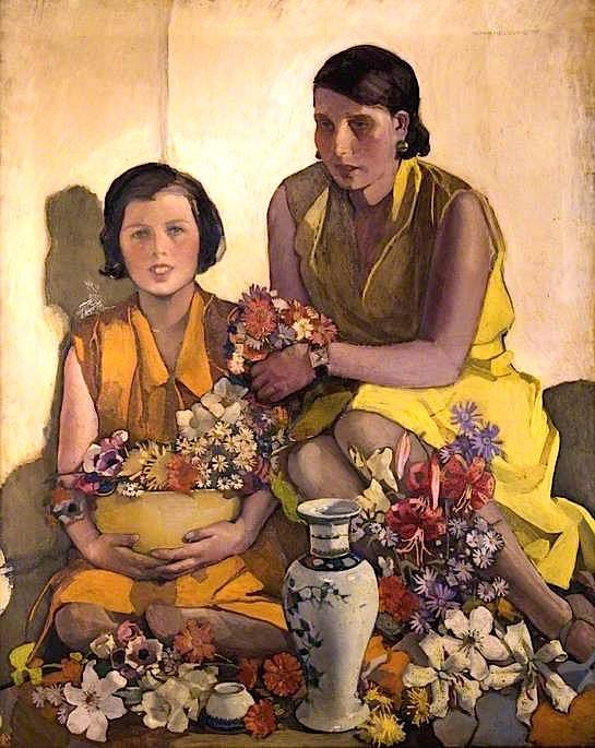 Salopian Cup and Chinese Vase | Norah Neilson Gray | oil painting