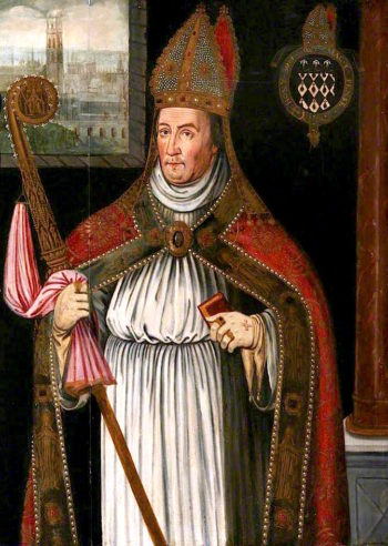 William of Waynflete | Richard Greenbury | oil painting